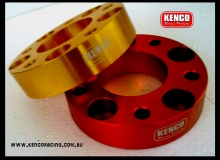35mm Ford Falcon 114.3 PCD Wheel Spacer Red