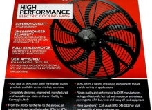 """12"""" Curved SPAL Thermo Fans - Best in the Business !!"""