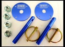 Kenco Blue Bonnet Pins