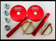Kenco Red Bonnet Pins