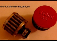 Chrome 9mm Mini Air Filter Breather Filter