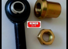 """Kenco 1/2"""" Left Hand Weld in Bung Rod End Kit"""